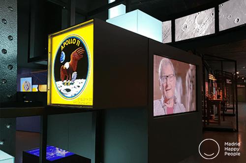 Exposición de madrid a la luna