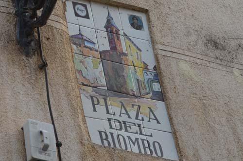 plaza del biombo