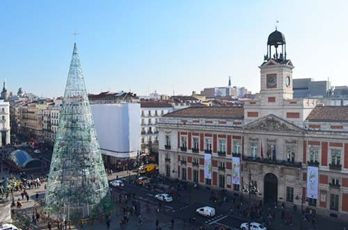 Puerta Del Sol Km 0 Azotea Y Ocio Madrid Happy People