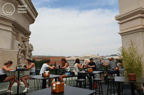 Terraza Cibeles Madrid 2019 Madrid Happy People