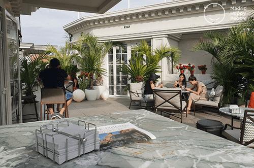 terraza hotel hyatt madrid