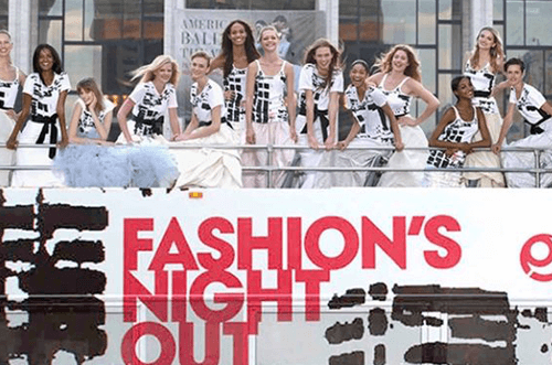 Vogue Fashion Night Out 2018