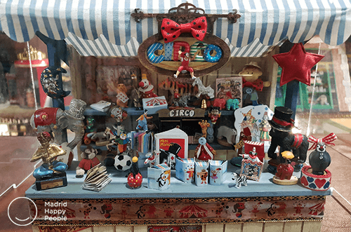 Tiendas vintage en miniatura