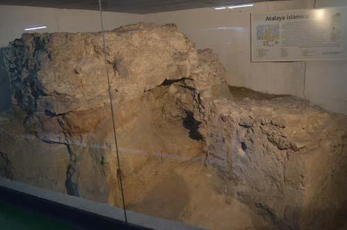 atalaya de la muralla arabe