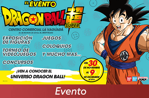 exposición dragon ball la vaguada