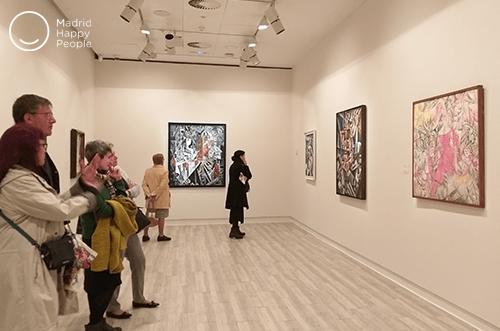exposición de chagall en madrid