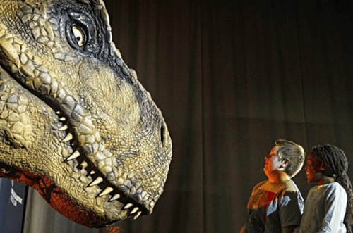 exposición dinosaurios 2018 Jurassic World The Exhibition