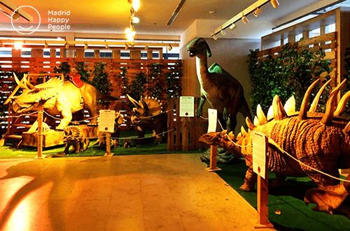 exposición dinosaurios madrid - parque dinosaurios madrid