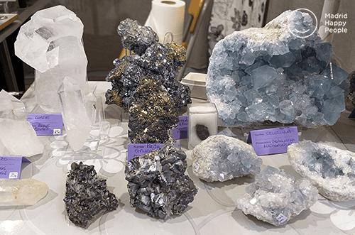 feria esotérica madrid - esoterismo - minerales