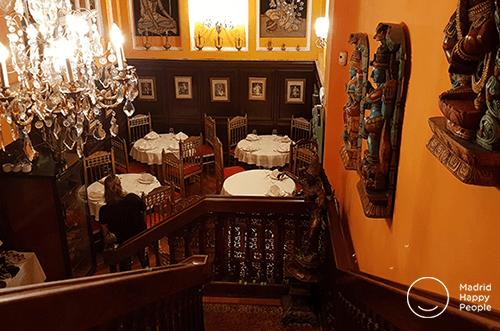 restaurante hindú madrid