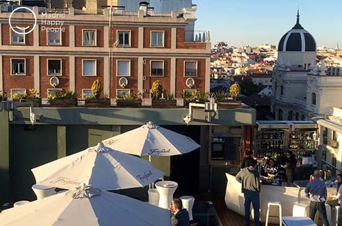 Terraza Hotel Santo Domingo Madrid