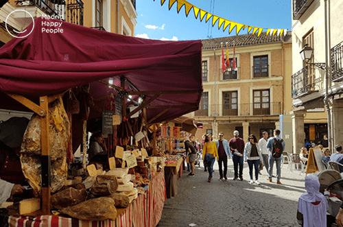 mercado medieval alcalá de henares 2018