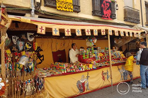 mercadillo medieval alcalá de henares