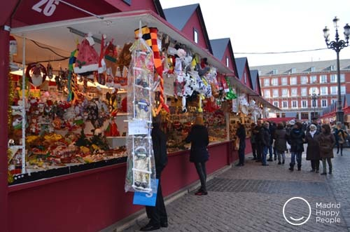 mercado navideño madrid 2018 - 2019