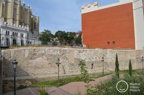muralla arabe de madrid