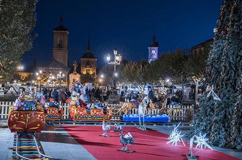 plaza de cervantes navidad alcalá de henares