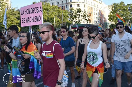 Barrio Orgullo Gay Madrid
