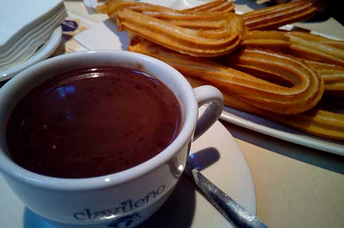 Primera Ruta de Chocolate con Churros