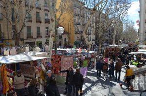 El rastro - mercadillo Madrid El Rastro