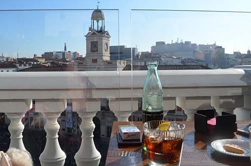 Puertasol Terraza Con Vistas A La Puerta Del Sol Madrid