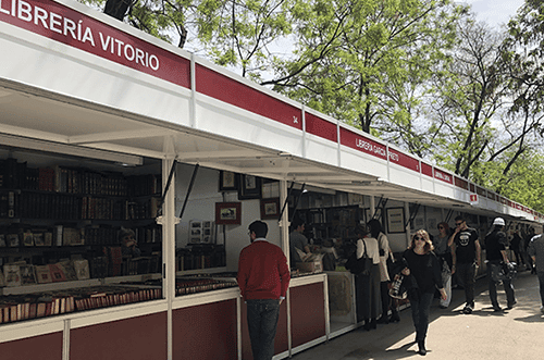 Feria Del Libro Antiguo 2019 Madrid Happy People