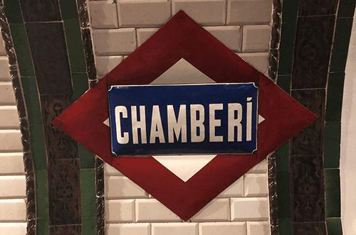 Estación fantasma Chamberí planes en Madrid