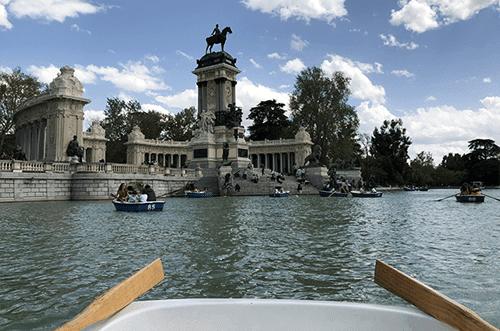 barcas parque del retiro