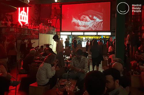 Sala Equis 2020 Cine Bar De Moda Madrid Happy People