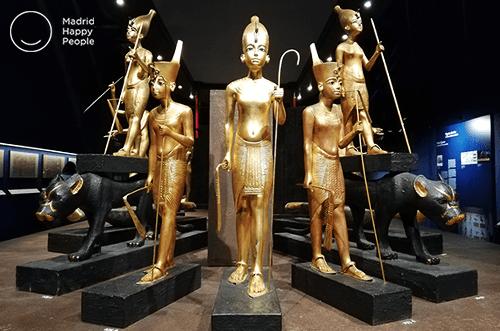 exposición tutankhamón madrid