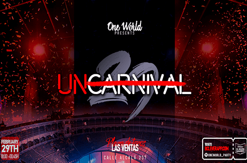 fiesta de carnaval unicarnaval