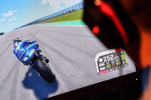 carrera moto gp