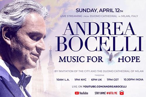 Concierto Andrea Bocelli