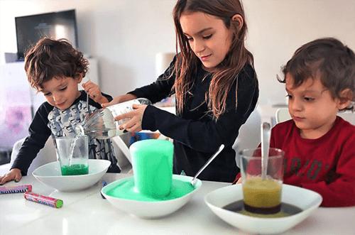 experimentos en casa para niños