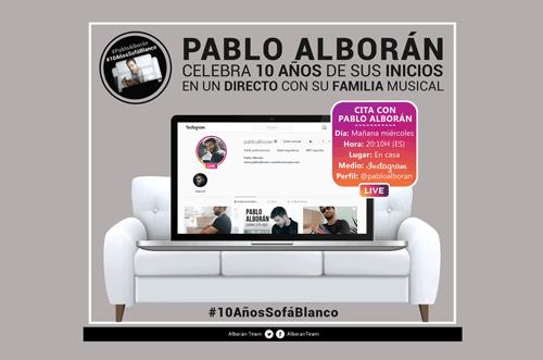 Pablo Alborán Instagram