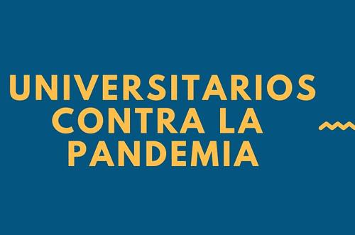 Universitarios contra la pandemia