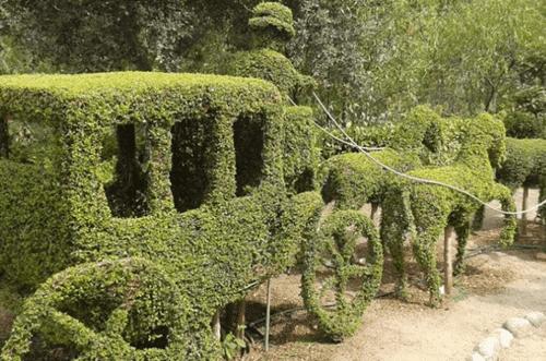 El jardín encantado