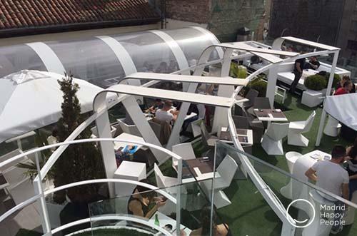 Terraza Gymage azoteas Madrid terrazas madrid