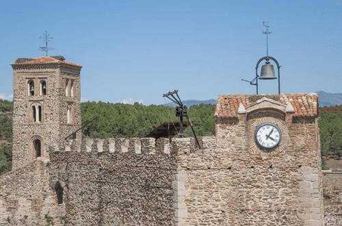 Torre del reloj Buitrago de Lozoya Madrid