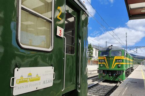 Tren al Escorial