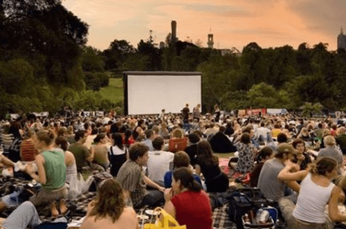 cine al aire libre - cine de verano la latina