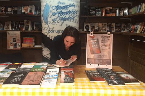 Feria del libro Madrid Puente de Vallecas