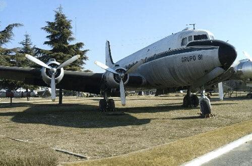 Museo de la aviación Madrid