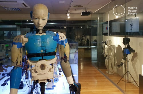 the robot museum madrid