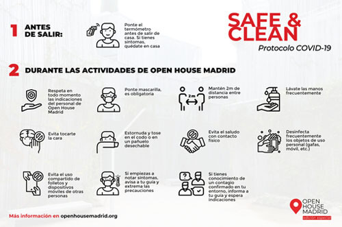 Madrid Open House medidas preventivas