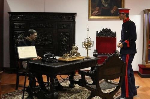 guardia real española - - sala histórica guardia real
