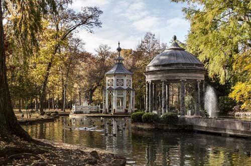 jardín del príncipe palacio real de aranjuez