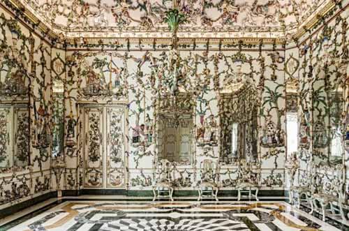 gabinete de porcelana palacio aranjuez