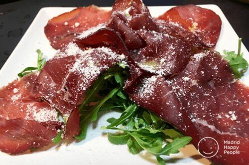 cocina italiana punto G a domicilio madrid