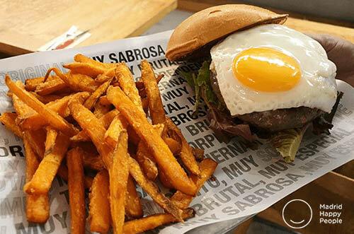 hamburguesa nostra Madrid