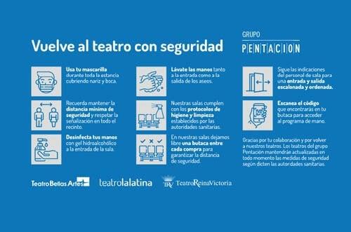 musical la latina medidas preventivas